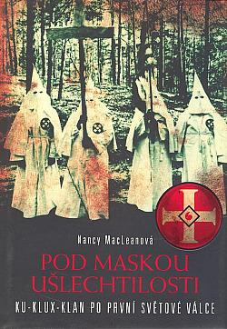 Pod maskou ušlechtilosti obálka knihy