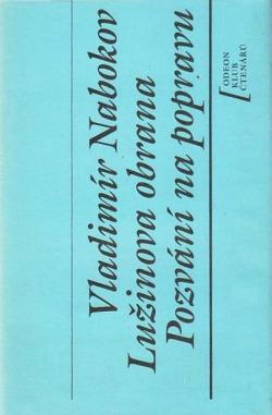 Lužinova obrana / Pozvání na popravu obálka knihy