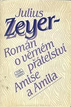Román o věrném přátelství Amise a Amila obálka knihy