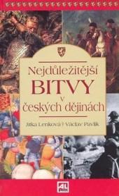 Nejdůležitější bitvy v českých dějinách obálka knihy