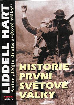 Historie první světové války obálka knihy