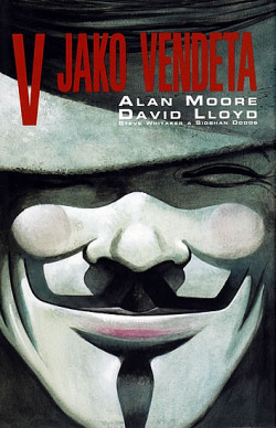 V jako Vendeta obálka knihy