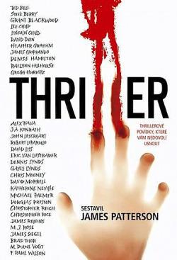 Thriller obálka knihy