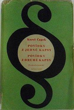 Povídky z jedné kapsy / Povídky z druhé kapsy obálka knihy