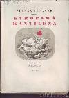 Evropská kantiléna obálka knihy