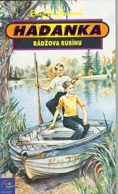 Hádanka Rádžova rubínu obálka knihy
