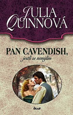 Pan Cavendish, jestli se nemýlím obálka knihy