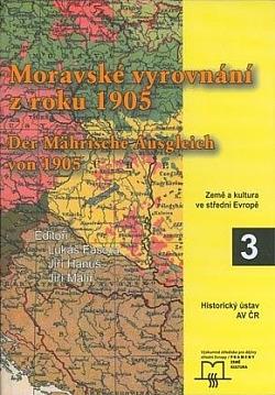 Moravské vyrovnání z roku 1905 obálka knihy