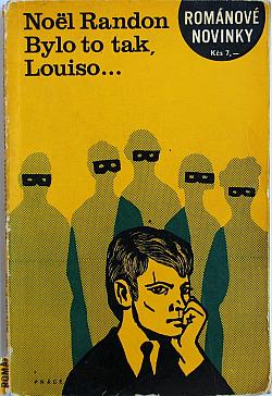 Bylo to tak, Louiso obálka knihy