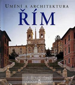 Řím - umění a architektura obálka knihy