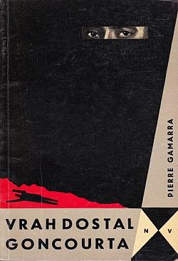 Vrah dostal Goncourta obálka knihy