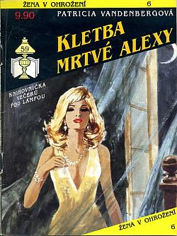 Kletba mrtvé Alexy obálka knihy