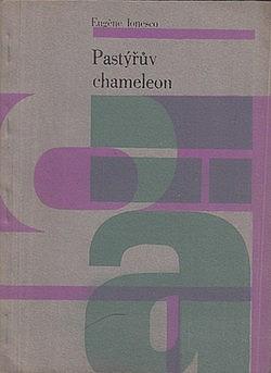 Pastýřův chameleon obálka knihy