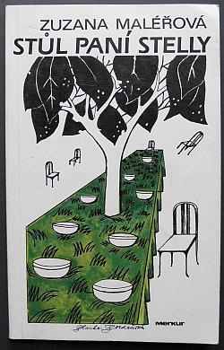 Stůl paní Stelly obálka knihy