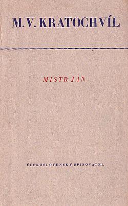 Mistr Jan obálka knihy