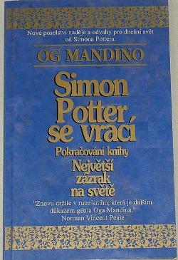 Simon Potter se vrací obálka knihy