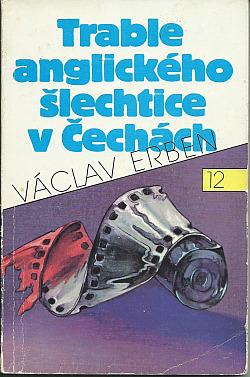 Trable anglického šlechtice v Čechách obálka knihy