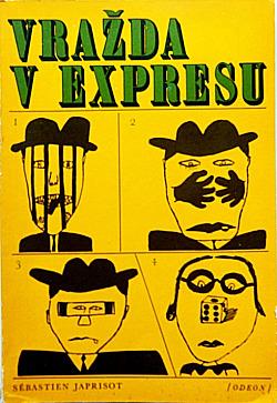 Vražda v expresu obálka knihy