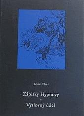 Zápisky Hypnovy. Výslovný úděl obálka knihy