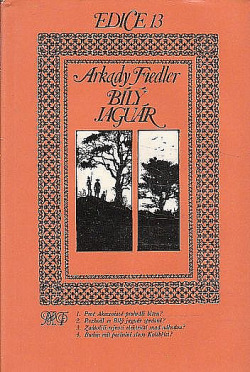 Bílý jaguár obálka knihy