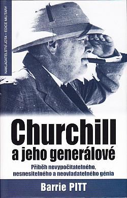 Churchill a jeho generálové obálka knihy