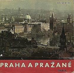 Praha a Pražané obálka knihy