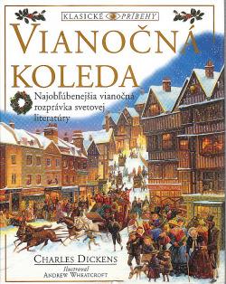 Vianočná koleda obálka knihy