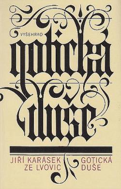 Gotická duše a jiné prózy obálka knihy