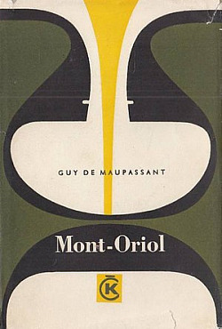 Mont-Oriol obálka knihy