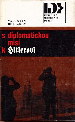 S diplomatickou misí k Hitlerovi obálka knihy