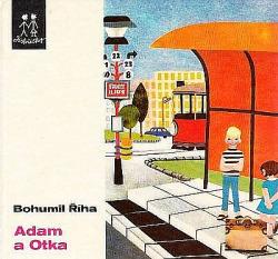 Adam a Otka obálka knihy