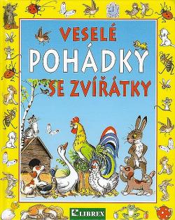 Veselé pohádky se zvířátky obálka knihy