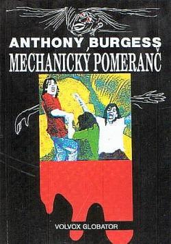 Mechanický pomeranč obálka knihy