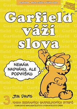 Garfield váží slova obálka knihy