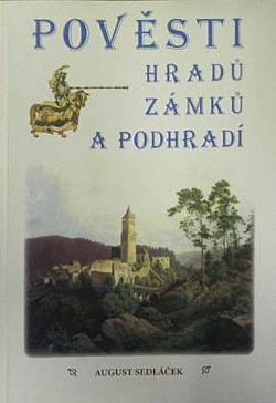 Pověsti hradů, zámků a podhradí obálka knihy