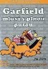 Garfield mluví s plnou pusou