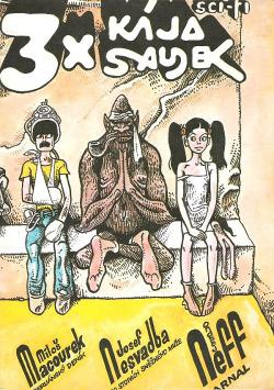 3x Kája Saudek obálka knihy