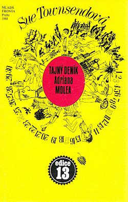 Tajný deník Adriana Molea obálka knihy