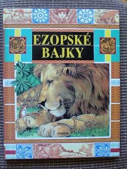 Ezopské bajky obálka knihy