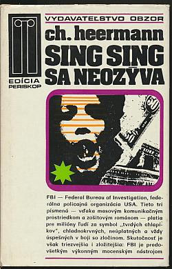 Sing Sing sa neozýva obálka knihy