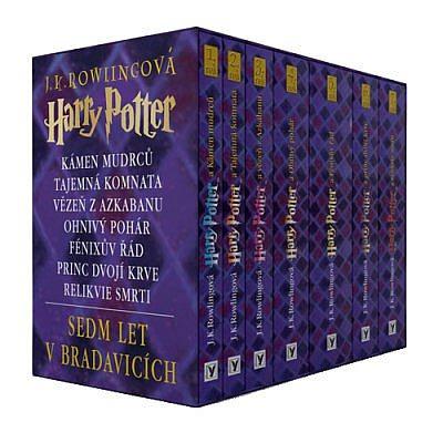 Výsledek obrázku pro harry potter knihy