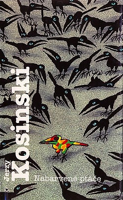 Nabarvené ptáče obálka knihy