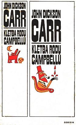 Kletba rodu Campbellů obálka knihy