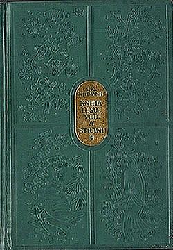 Kniha lesů, vod a strání obálka knihy