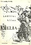 Melia obálka knihy