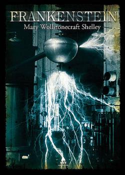 Frankenstein obálka knihy