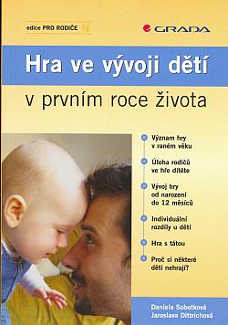 Hra ve vývoji dětí v prvním roce života obálka knihy