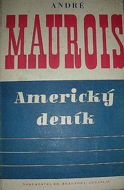 Americký deník obálka knihy