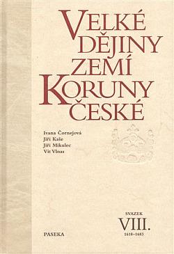 Velké dějiny zemí Koruny české VIII. obálka knihy