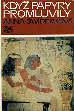 Když papyry promluvily obálka knihy